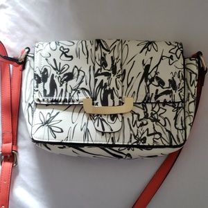 French Connection Ellen Floral Print Crossbody